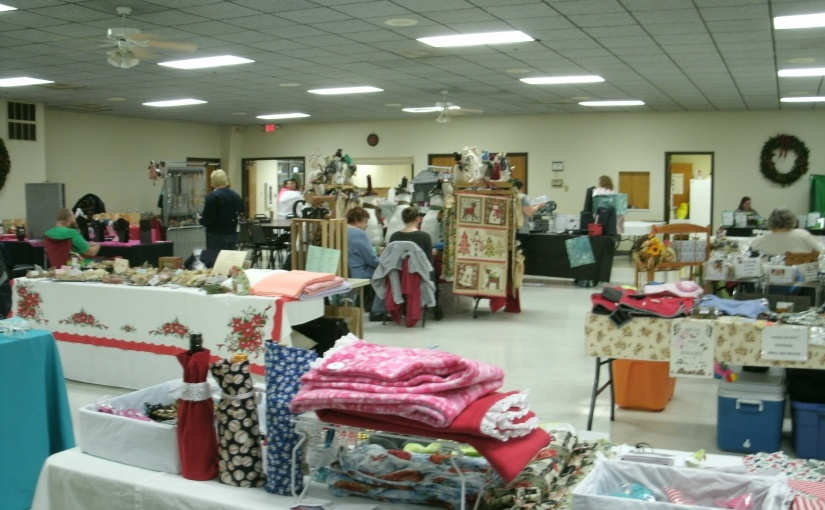 A Country Church Craft Show