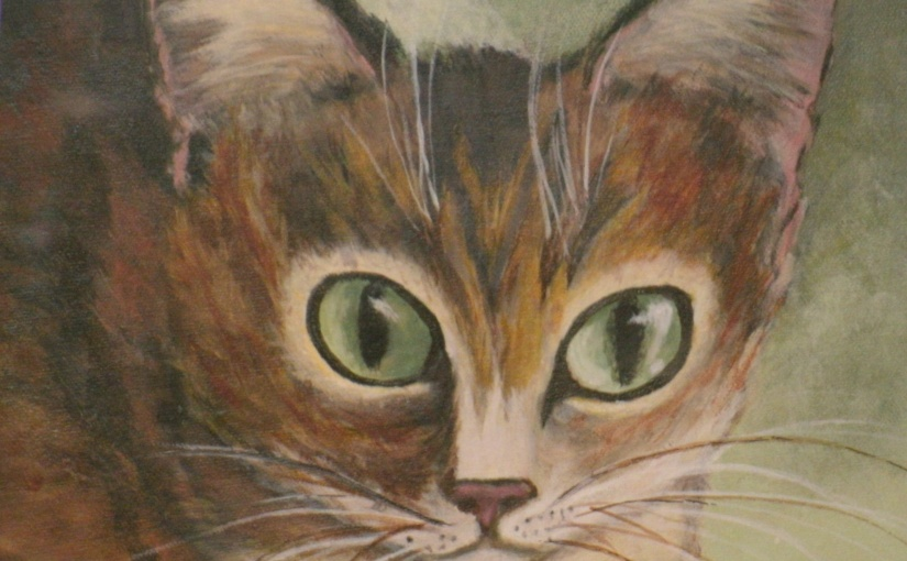 Captivating Cats – in paintings and in person . . .