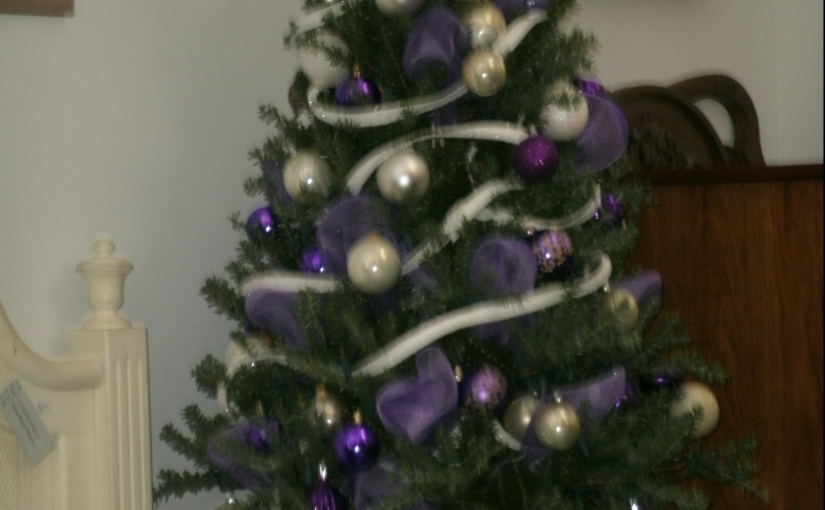 Love Purple? Make Your Own Kind of Christmas . . .