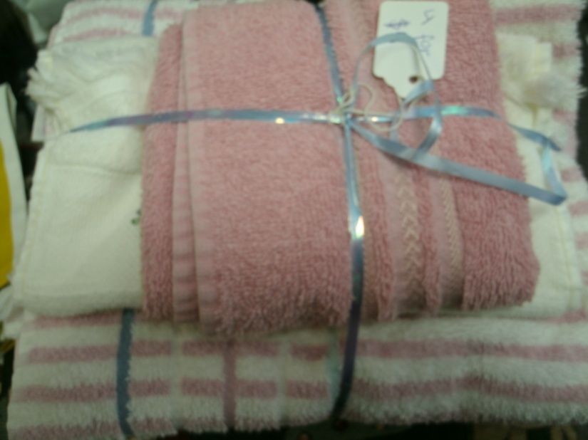 Vintage Towels in 100% Cotton Seem So Much Softer than the Materials of Today . ..