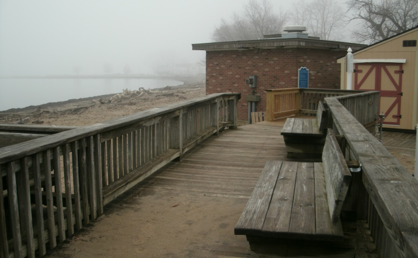 A Misty March Morning Beside theLake