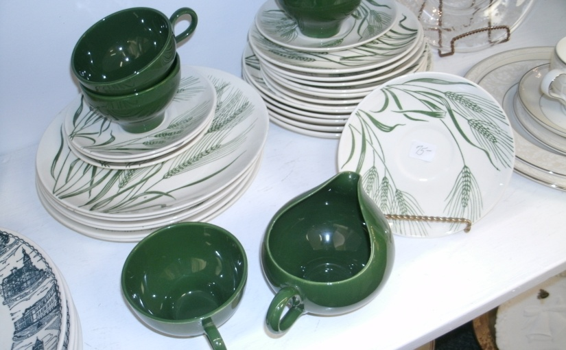 Fun Vintage Find – Cool Wheat Pattern China