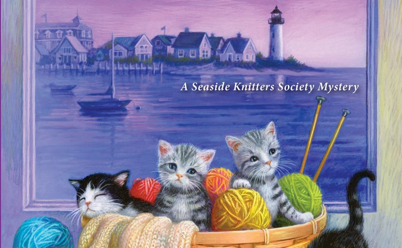 Book Review of How to Knit a Murder A Seaside Knitters' Society Mystery By Sally Goldenbaum