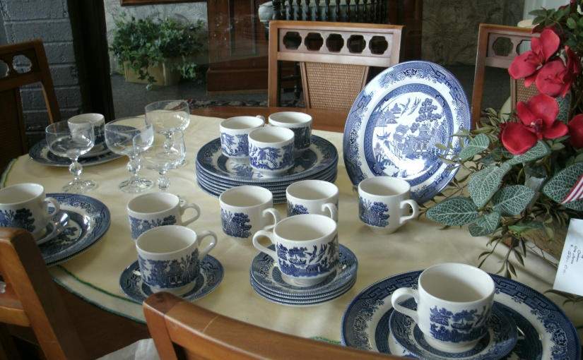 Of Blue Willow China and a Vintage Eatery
