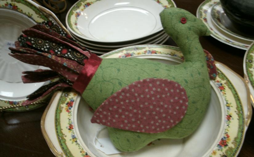 Cute Calico Turkey Coordinates With Delicately PatternedChina