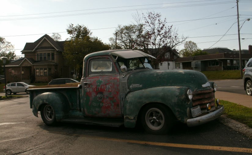 This Cool Vintage Custom Rat Rod Made My Morning